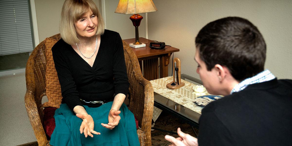 Jennifer Downs Counseling Session