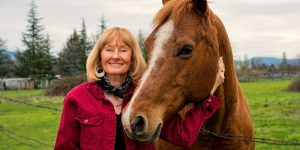 Jennifer Downs with Horse
